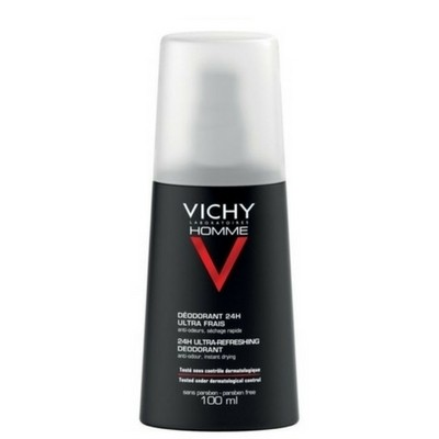 Vichy Homme Deodorante Spray Freschezza estrema 24H 100ml