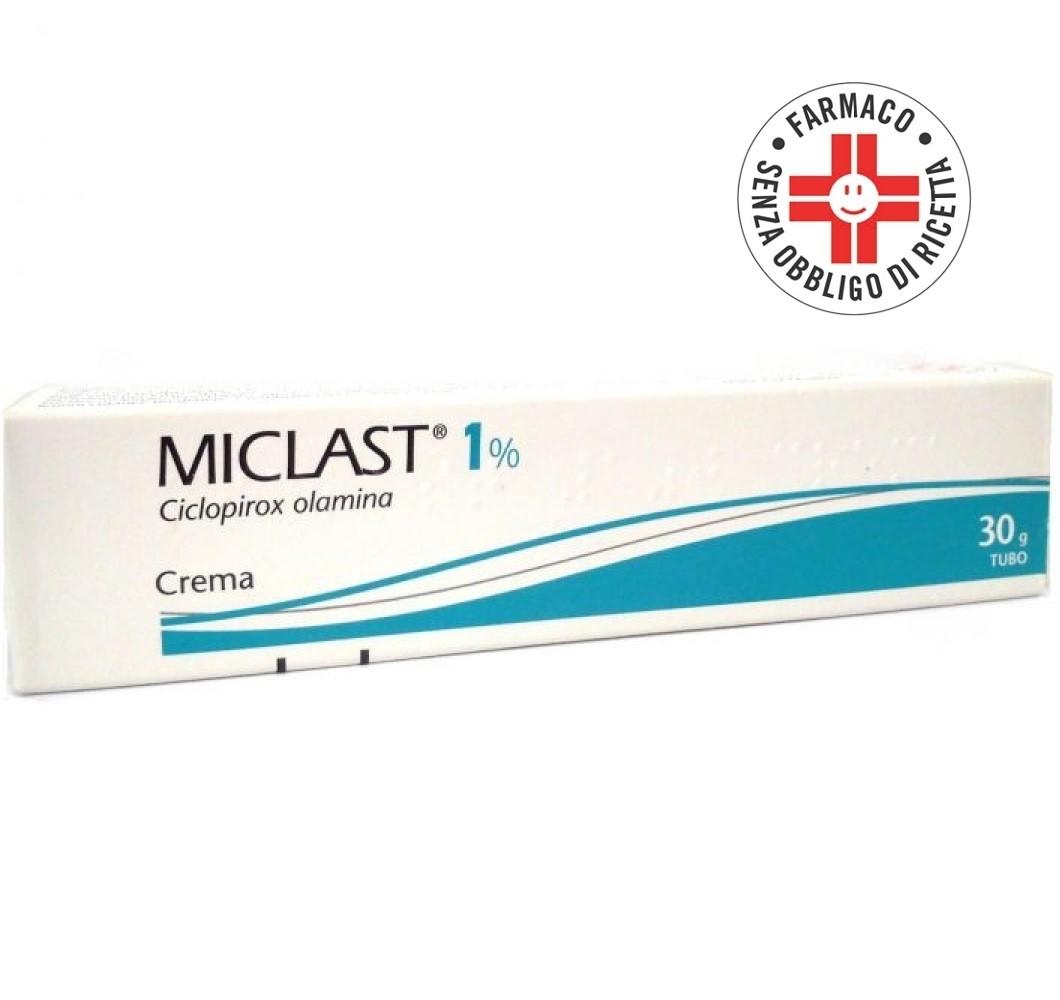 Miclast* Crema 30gr 1%