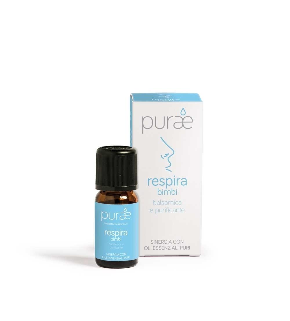 Purae Sinergia Oli Essenziali Respira Bimbi 10ml