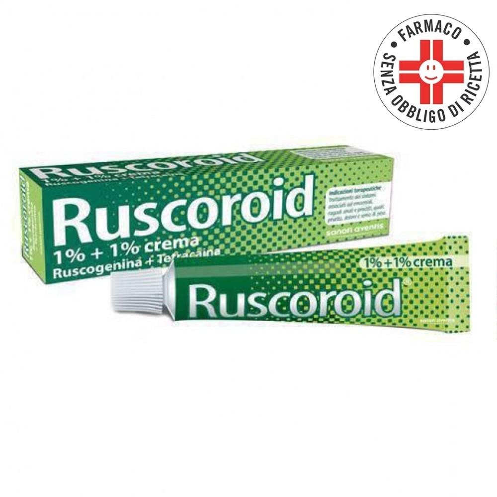 Ruscoroid* Crema rettale 40gr 1%+1%
