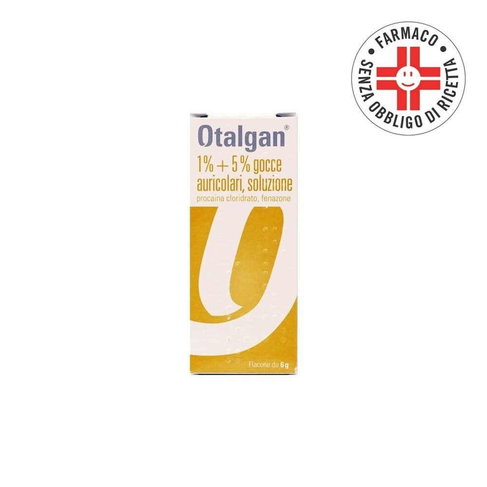 Otalgan* Gocce Auricolari Flacone 6gr
