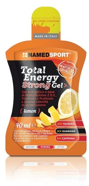 Named Total energy strong lemon gel 40 ml