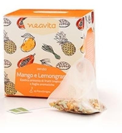 Neavita FiltroScrigno Infuso Mango e Lemongrass 15 bustine da 2,5g