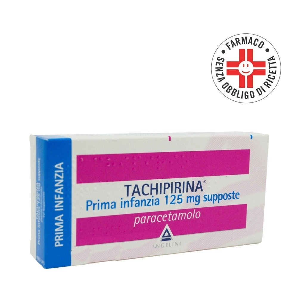 Tachipirina*Prima Infanzia 125mg 10supposte