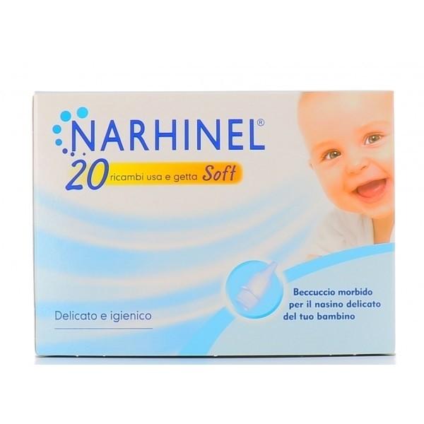 Narhinel Ricambi per aspiratore nasale 20 pezzi
