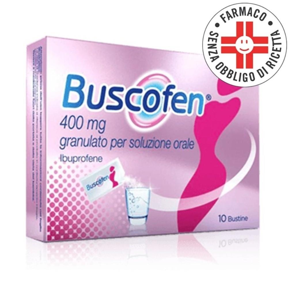 Buscofen* 10 bustine 400mg