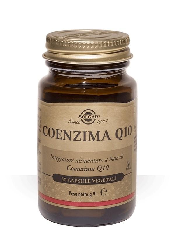 Solgar Coenzima Q10 30 capsule vegetali