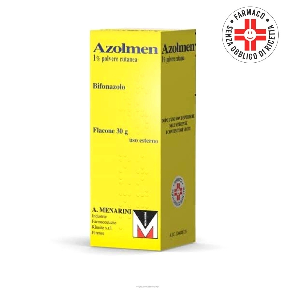 Azolmen* Polvere cutanea 30gr 1%