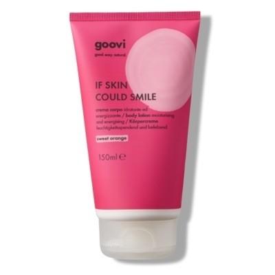 The Good Vibes Company Goovi If Skin Could Smile Crema Corpo Sweet Orange 150ml