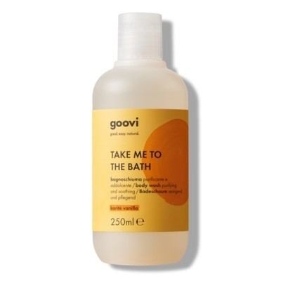 The Good Vibes Company Goovi Take Me To The Bath Bagnoschiuma Karitè Vanilla 250ml