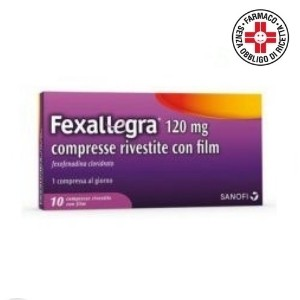 Fexallegra 10 compresse rivestite 120mg
