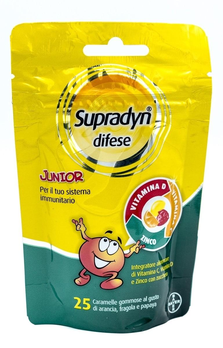 Bayer Supradyn difese junior 25 caramelle gommose
