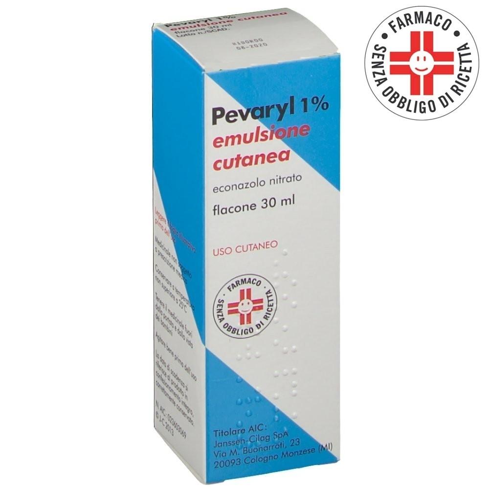 Pevaryl* emulsione cutanea 30ml 1%