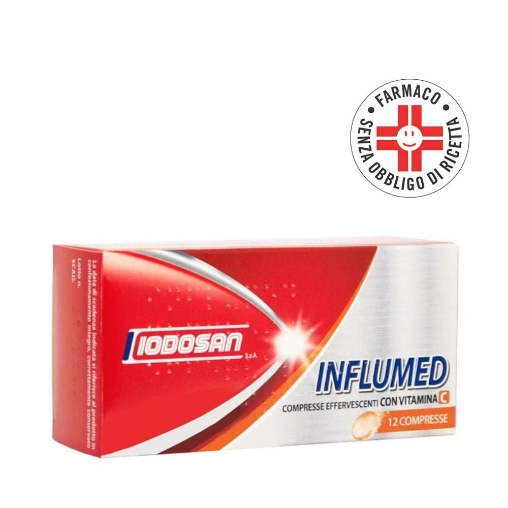 Influmed C* 12 Compresse effervescenti