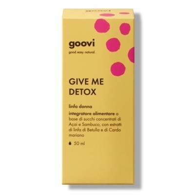 The Good Vibes Company Goovi Give Me Detox Linfa Donna 50ml