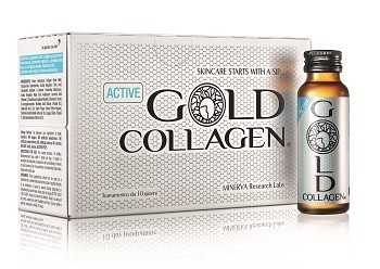 Minerva Research Labs Gold Collagen Active trattamento 10 Giorni 500 ml