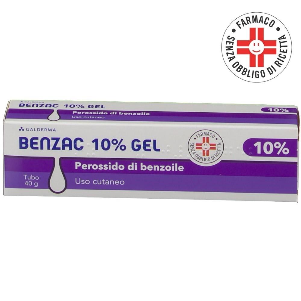 Benzac gel tubo da  40g 10%
