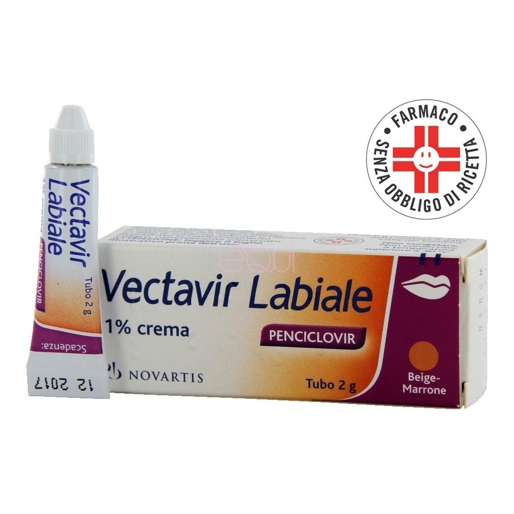 Vectavir labiale* Crema 2gr 1%