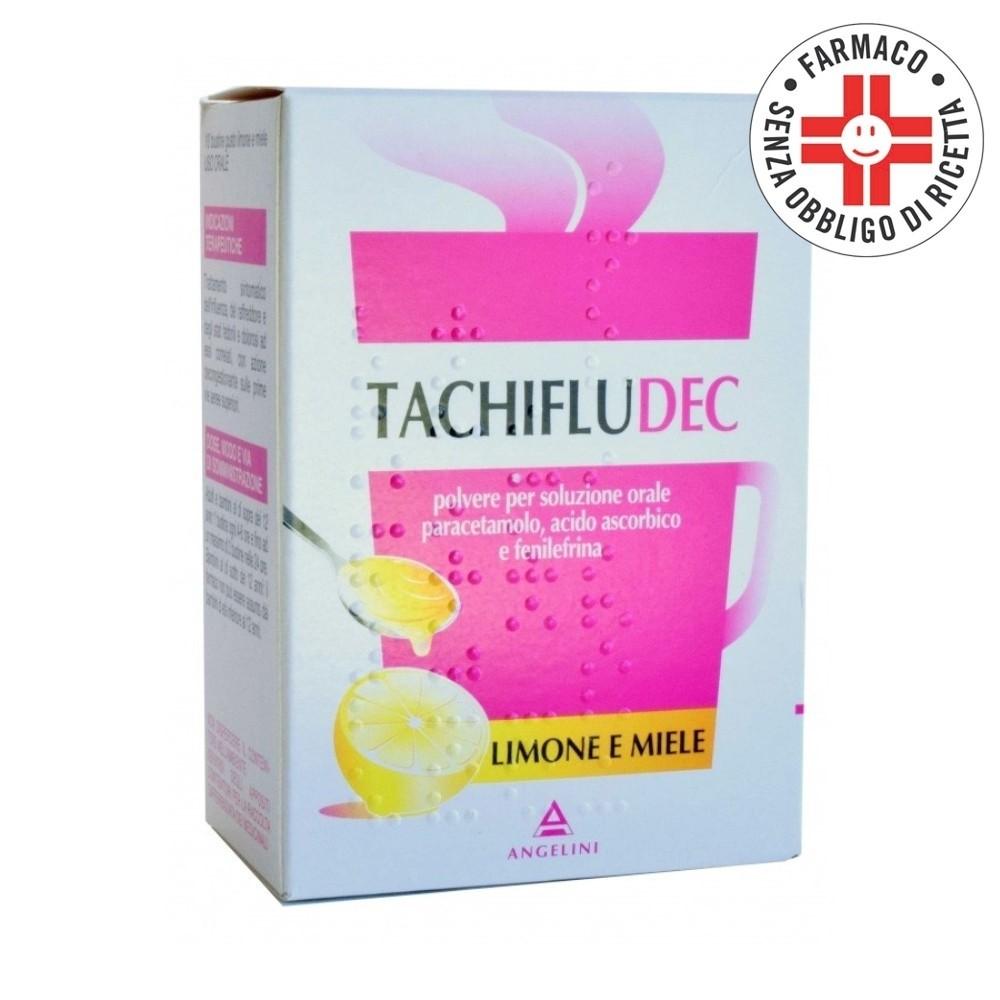 Tachifludec* 10 Bustine Limone Miele
