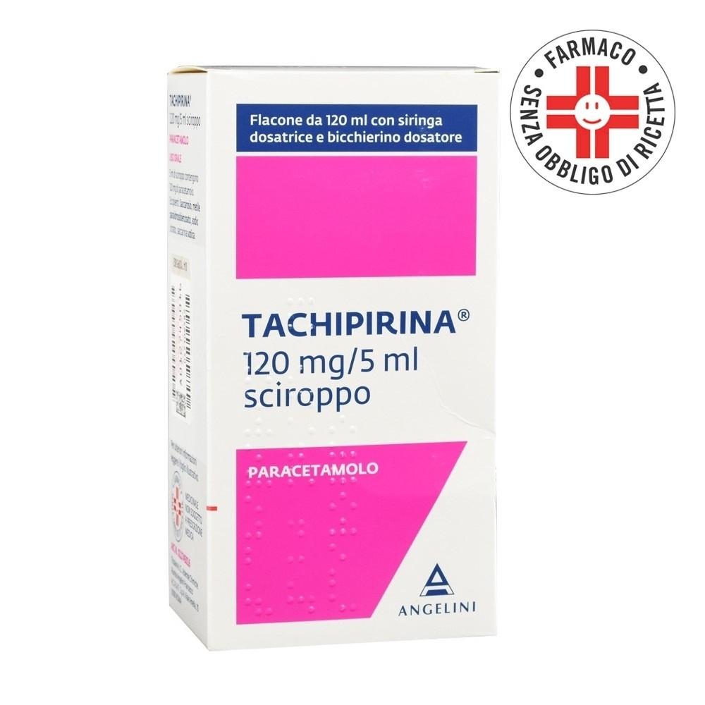 Tachipirina sciroppo 120ml 120mg/5ml