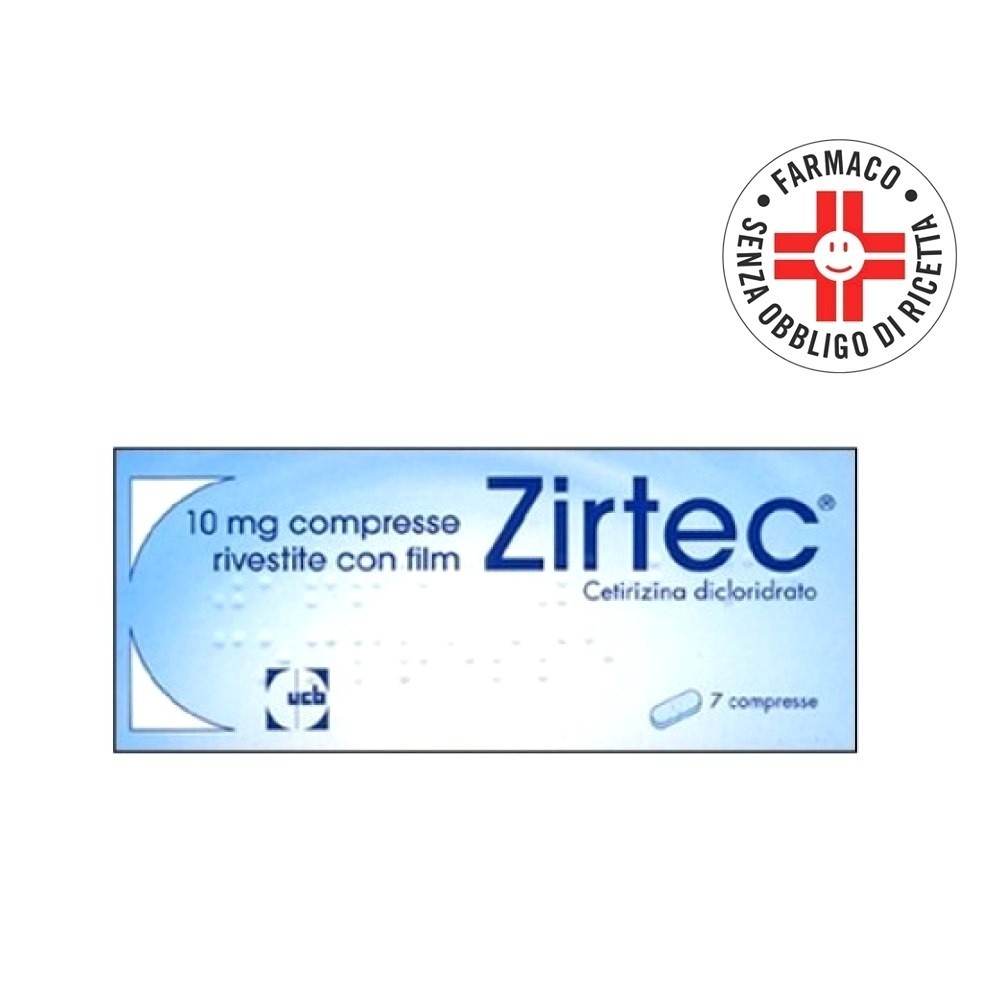 Zirtec* 7 Compresse Rivestite 10mg