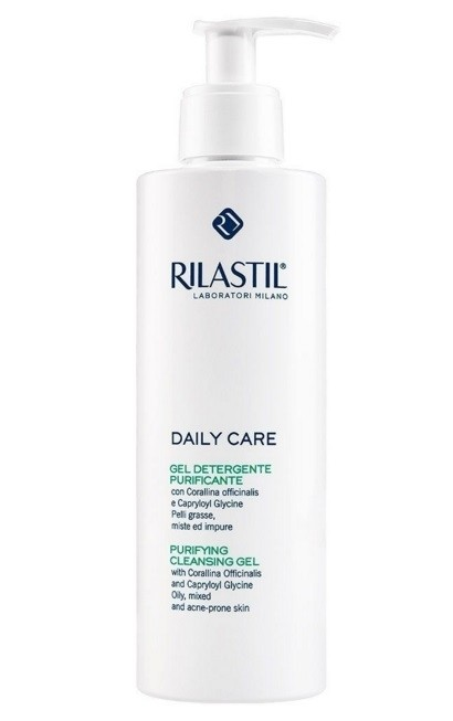 Rilastil Daily Care  gel detergente  purificante 250 ml
