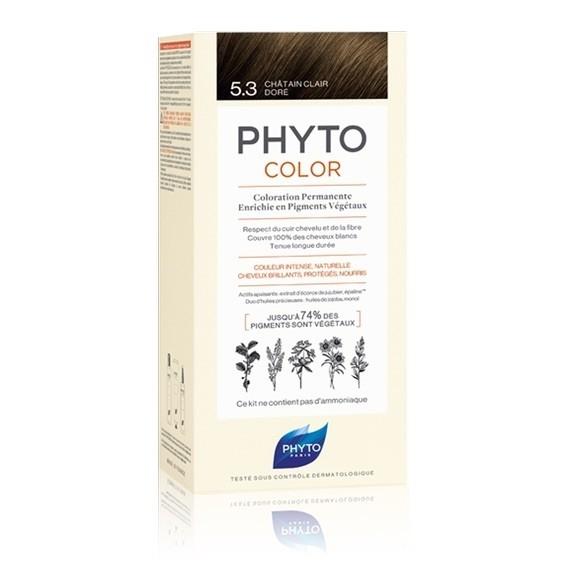 Phyto Color 5.3 Castano Chiaro Dorato