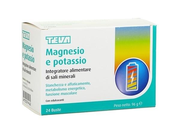 Teva Magnesio potassio 24 bustine