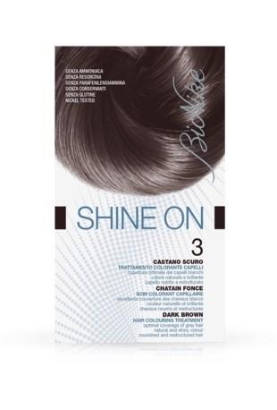 Bionike Shine On Trattamento Colorante Capelli - 3 Castano Scuro -