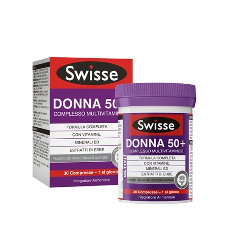 Swisse Multivitaminico Donna 50+ 30 compresse