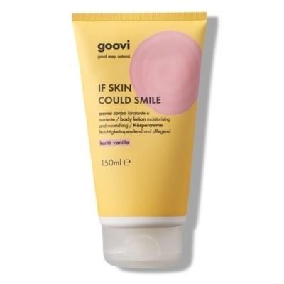 The Good Vibes Company Goovi If Skin Could Smile Crema Corpo Karitè Vanilla 150ml
