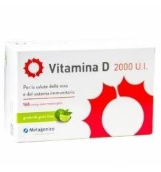 Metagenics Vitamina d 2000 U.I. 168  compresse masticabili