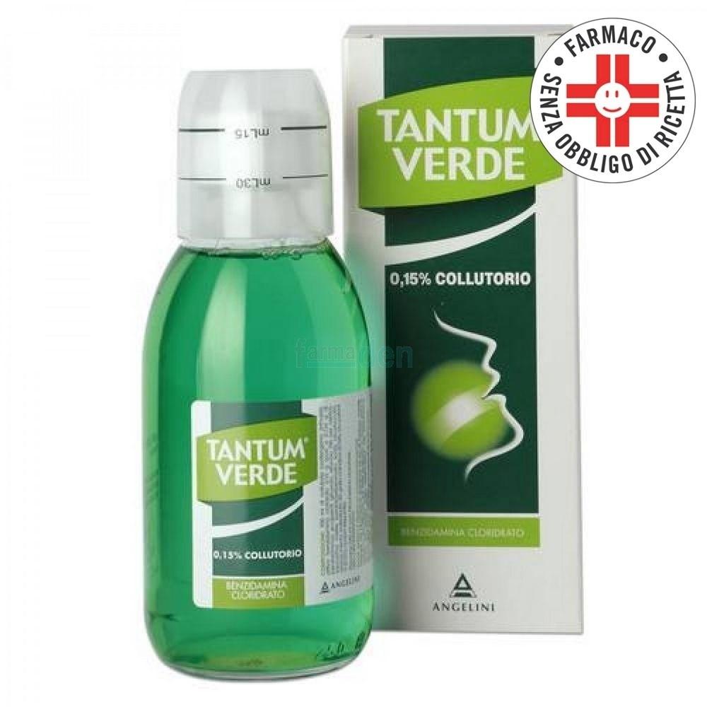 Tantum Verde* collutorio 120ml 0,15%