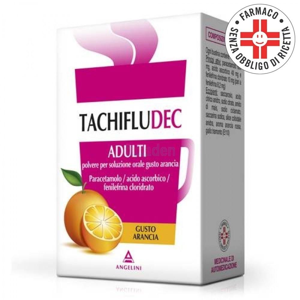 Tachifludec*10 Bustine Arancia
