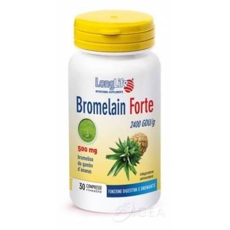 Longlife Bromelain Forte 30 tavolette
