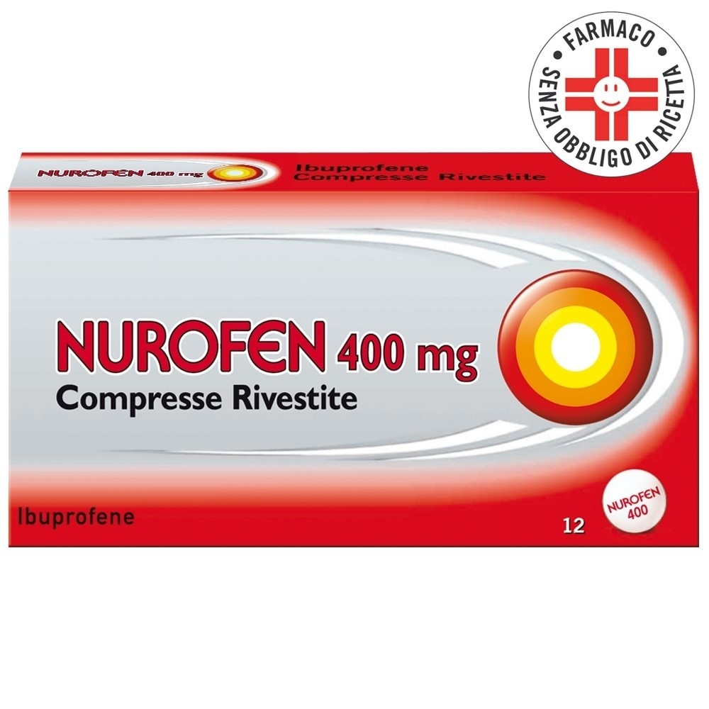 Nurofen* 12 compresse rivestite 400mg