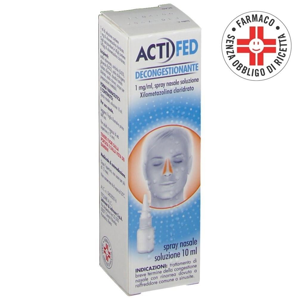 Actifed Decongestionante* spray nasale 10ml 1mg/ml