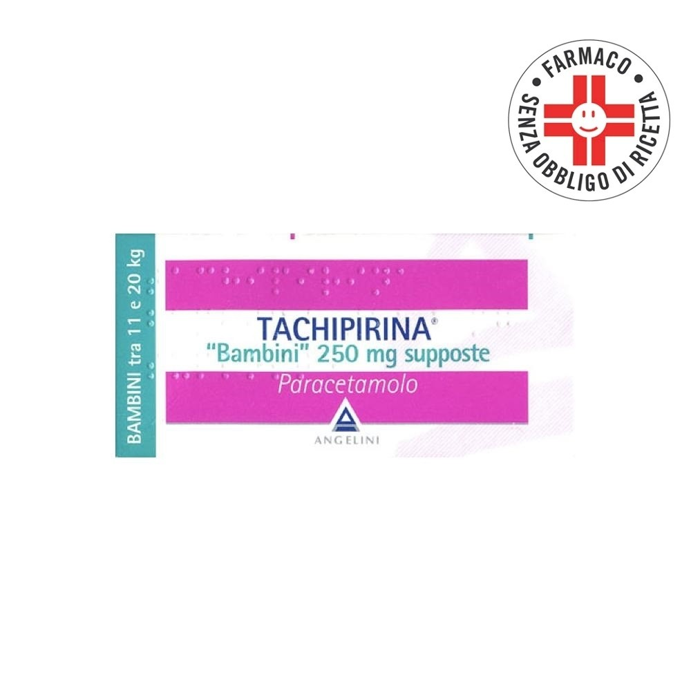 Tachipirina Bambini 10 supposte 250mg