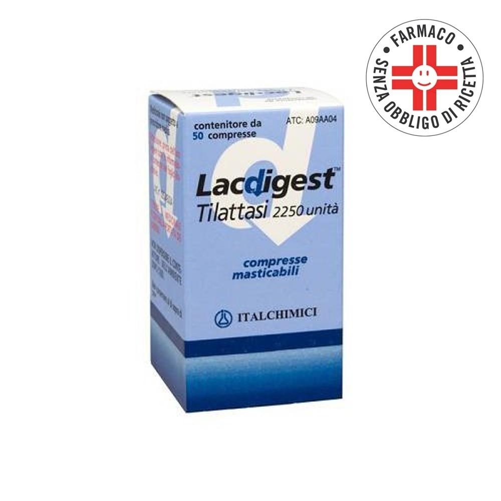 Lacdigest* 50 Compresse Masticabili 2250U