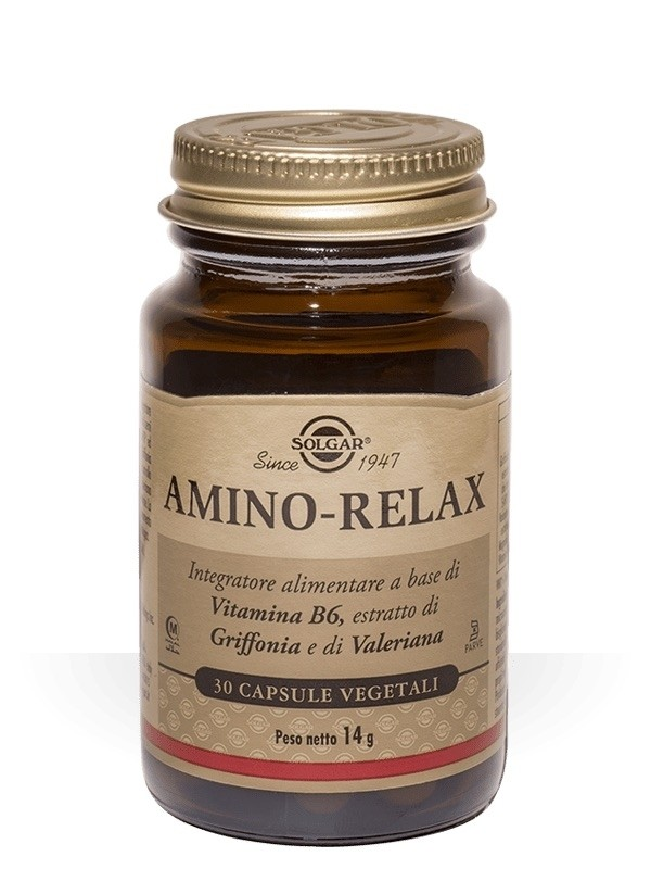 Solgar Amino-Relax 30 Capsule Vegetali