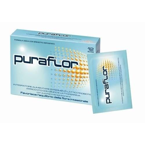 Pfizer Puraflor integratore alimentare di fermenti lattici probiotici 12 buste