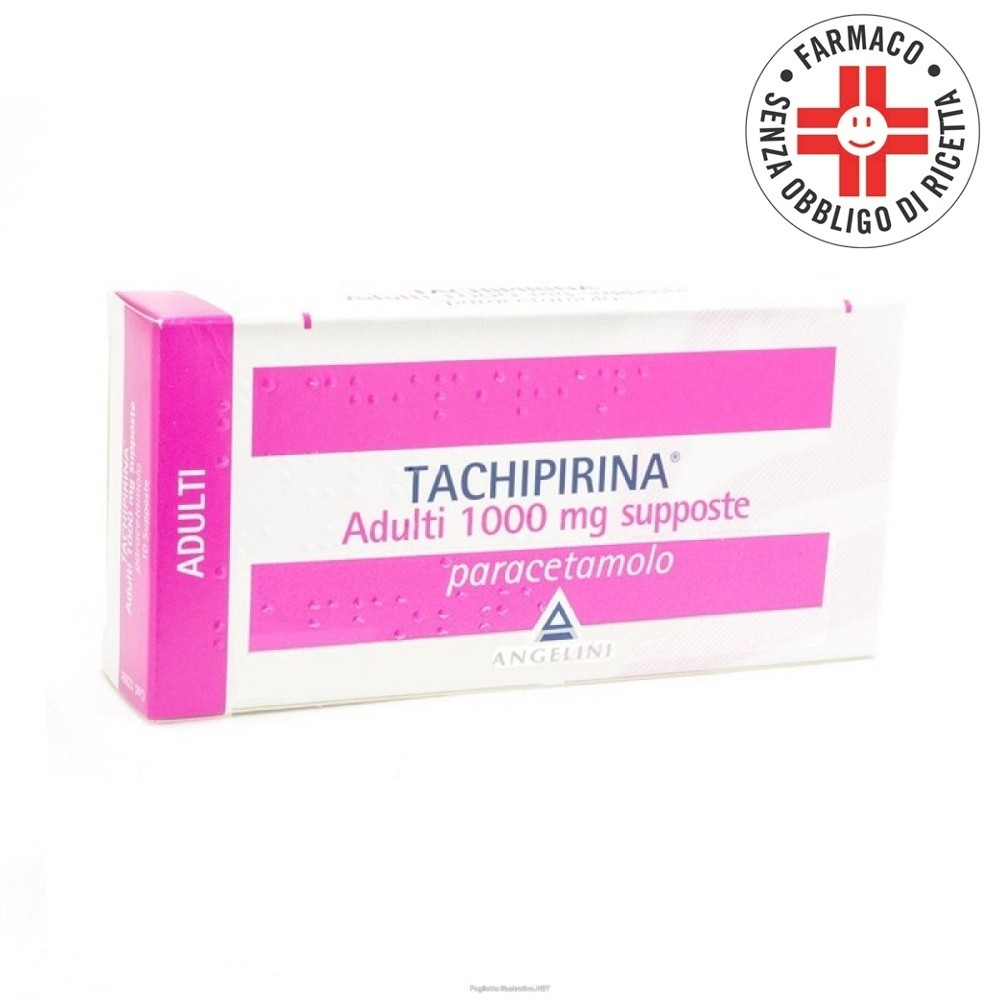 Tachipirina Adulti 10 supposte 1000mg