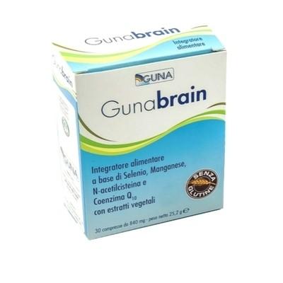 Guna Brain Integratore alimentare Stanchezza mentale 30 compresse