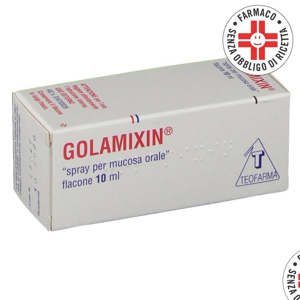 Golamixin* spray orofaringeo 10ml