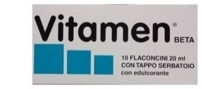 Vitamen Beta con edulcorante 10 flaconcini da 20ml
