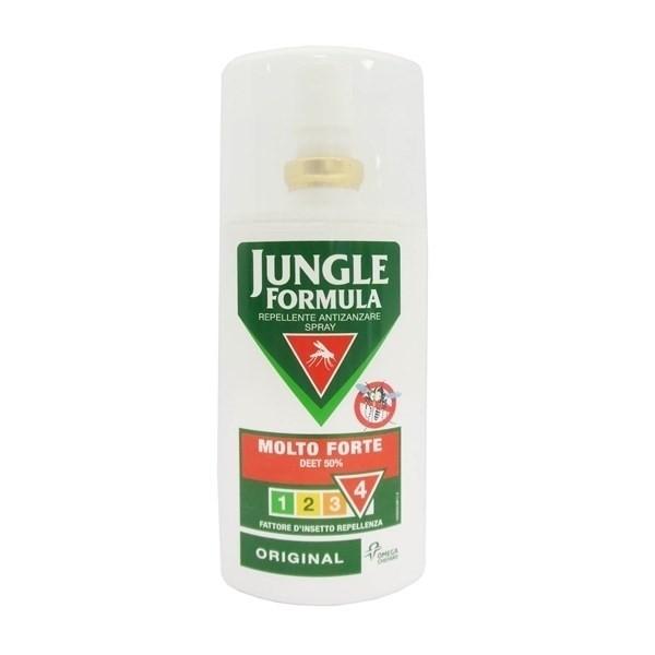 Jungle Formula Original Repellente Antizanzare Spray Molto Forte 75ml