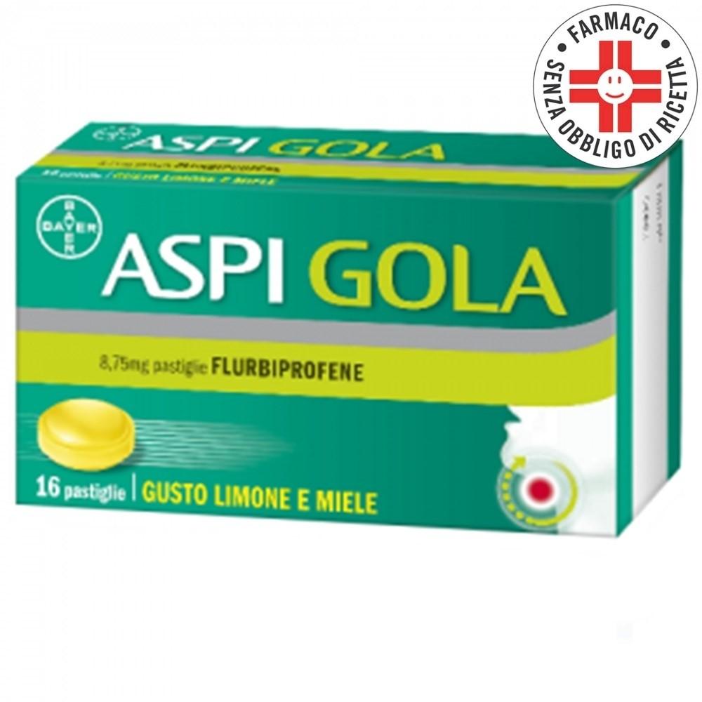 Aspi Gola* 16 pastiglie Limone e Miele