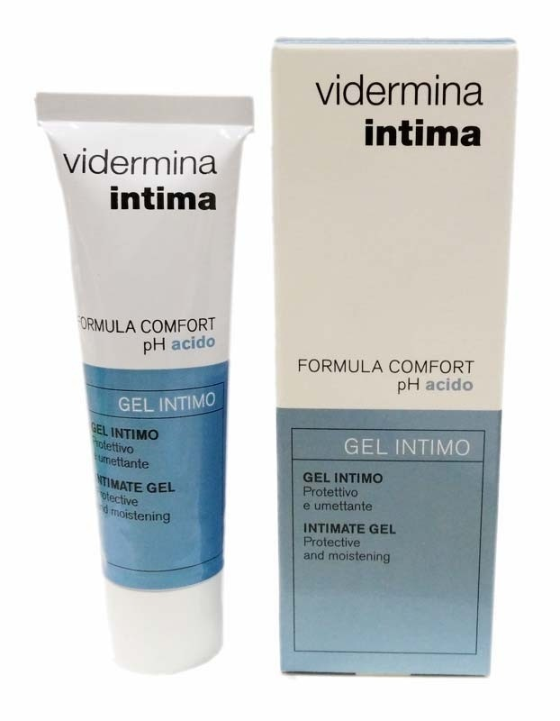 Ganassini Vidermina gel intimo - formula comfort pH acido 30ml