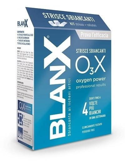 Blanx o3x strisce sbiancanti 14 pezzi