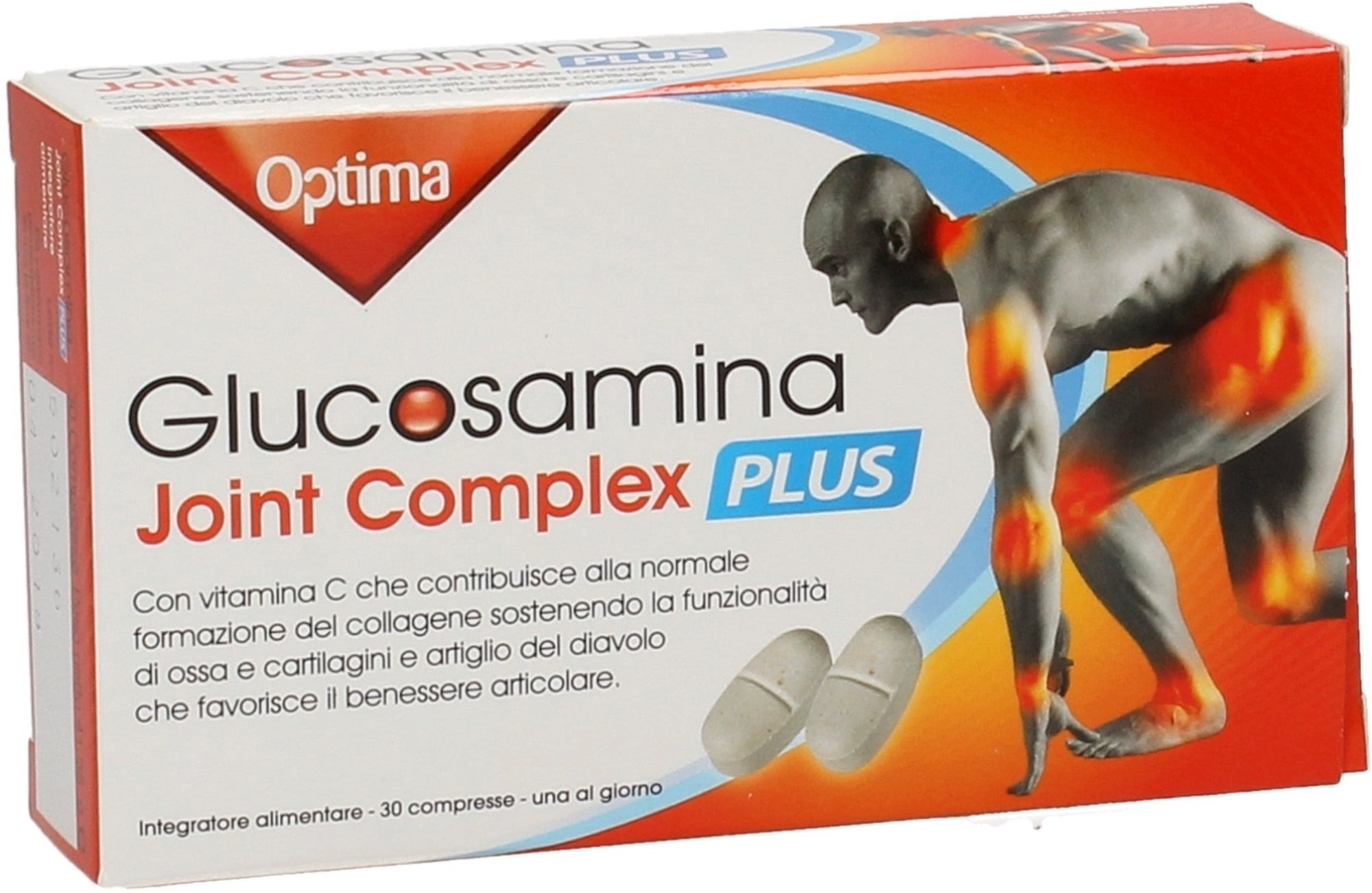 Optima Glucosamina Joint Complex Plus 30 compresse